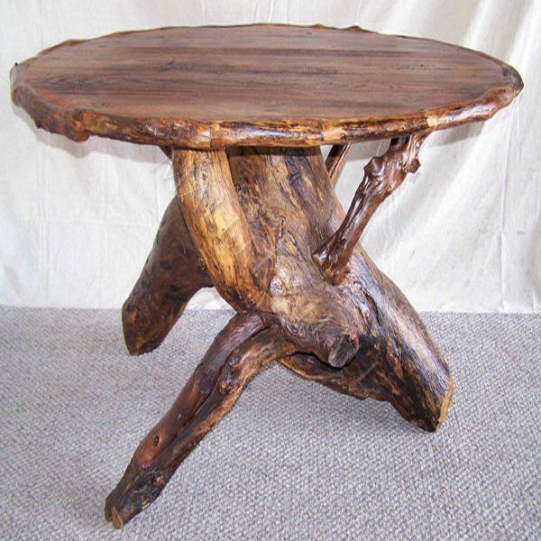 42 best images about tree firniture on pinterest for Tree root dining table