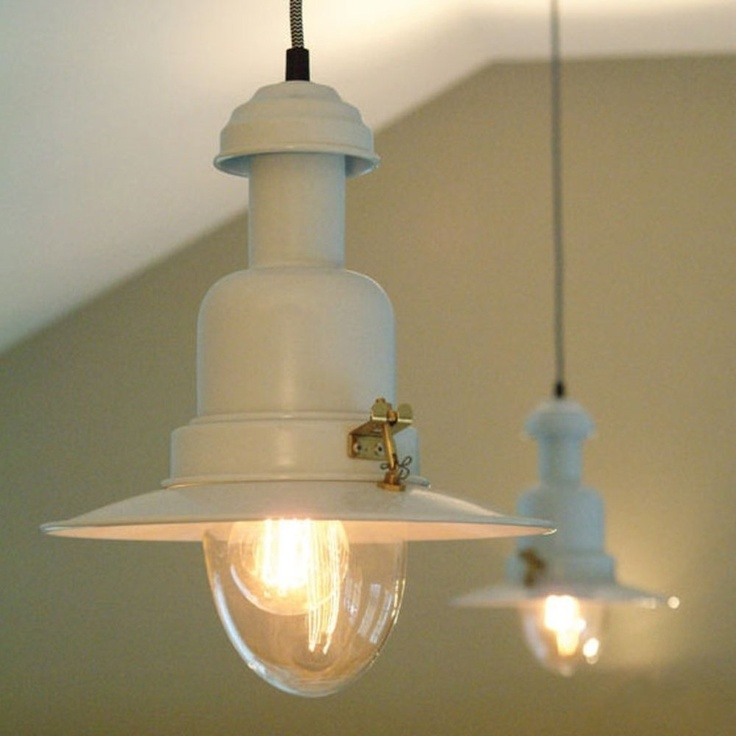 Pendant fishing light white garden trading original stylish accessories and lighting for home