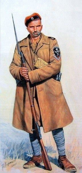 Корниловец-артеллерист 1919-21