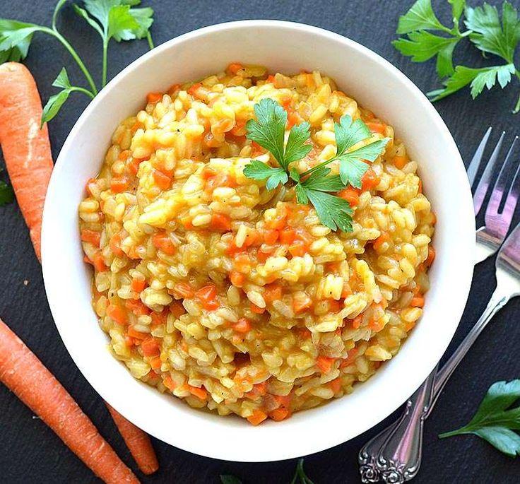 Ριζότο καρότου(3 μονάδες)