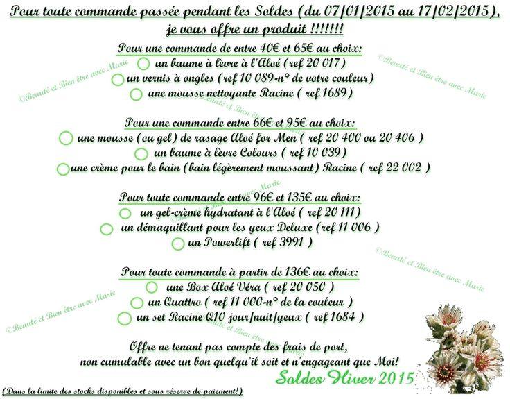 Les Soldes d'Hiver c'est maintenant!!! N'hésitez pas à me contactez, Marie Durand -> mdurand79@sfr.fr