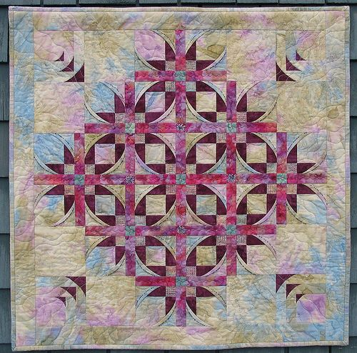 A beautiful Mexican Stars quilt