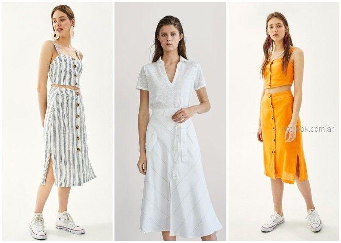 Vestidos casuales primavera verano 2019