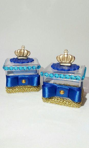 Caixinha decorada tema príncipe