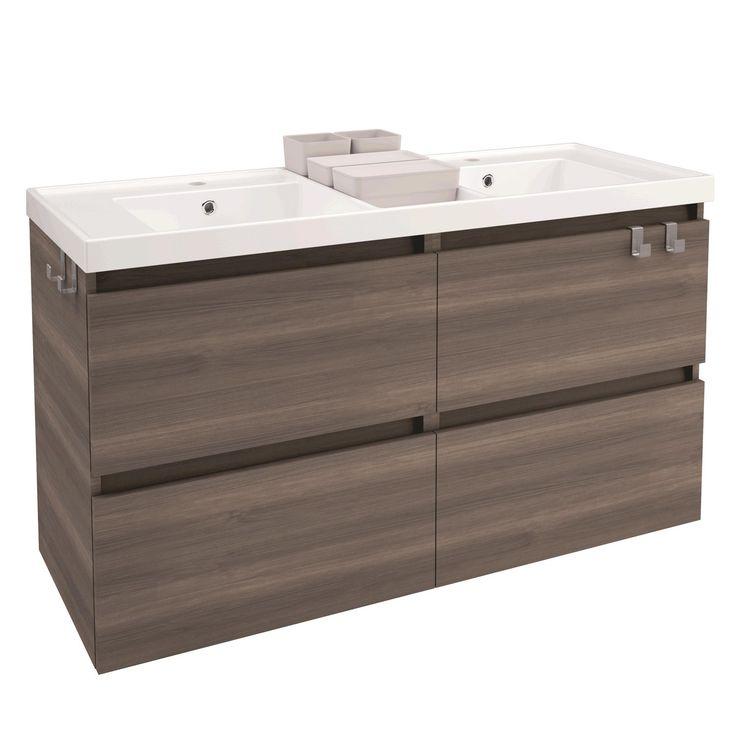 B-Box 4 Drawer Double Vanity Cabinet