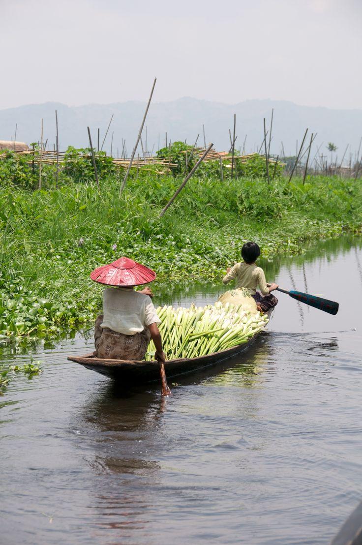 Life on Inle Lake in Myanmar