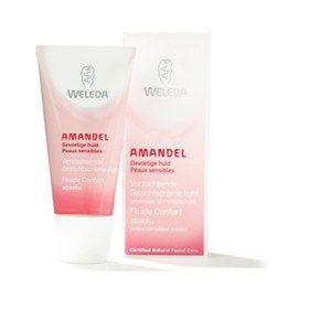 Gezichtscreme Amandel light gevoelige huid Weleda