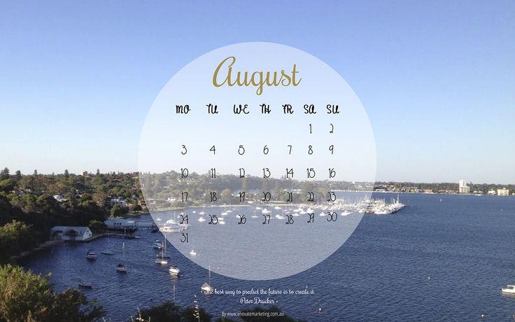 Desktop wallpaper August by Enovate Marketing
