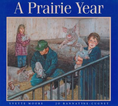 Depicts family life and activities on the prairies for each month of the year. Gr.K-3