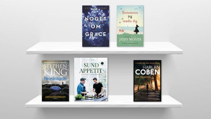 Top 5 over nye bøger i 2016 Læs mere her: http://www.blog.bog-ide.dk/top-5-over-nye-boger-i-2016/