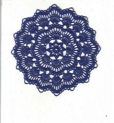 **Ravelry: White Fan Doily pattern by Beth Mueller