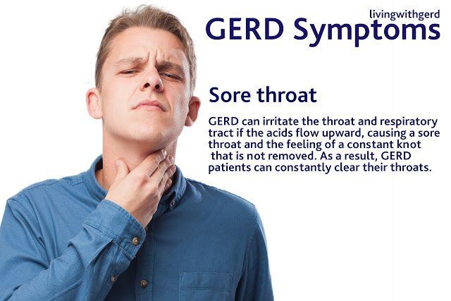 Living with Gerd: GERD Sore Throat