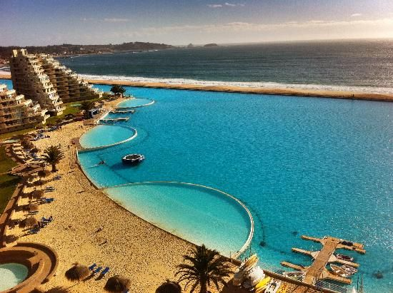 San Alfonso del MarResorts Algarrobos, The Mars, Largest Pools, Buckets Lists, Mars Resorts, Guinness Book, Alfonso The, Largest Swimming, Awesome Pools