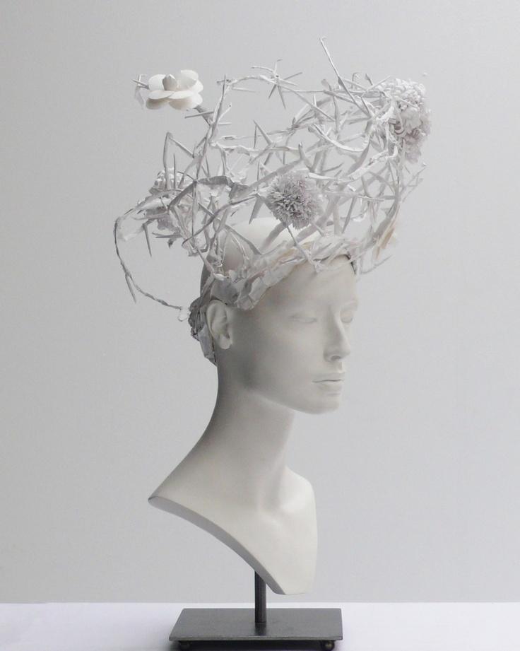 CHANEL Haute Couture Headpiece by Katsuya Kamo, Chanel, 2009