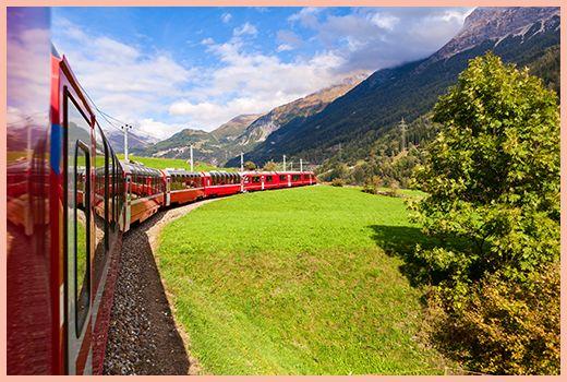 Peisaj din tren