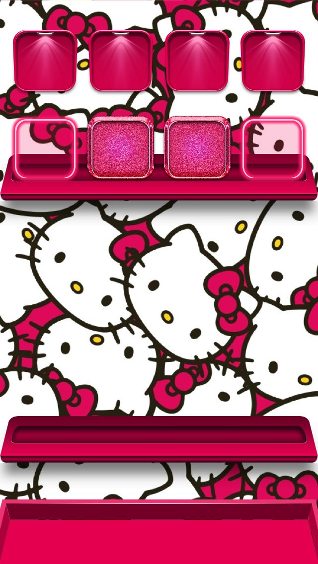 iPhone wallpapers ) Hello Kitty Wallpapers Pinterest