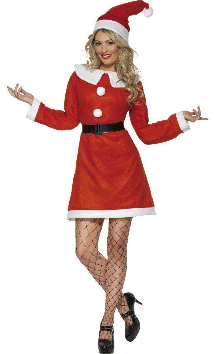 Weihnachtsfrau-Kostüm für Damen