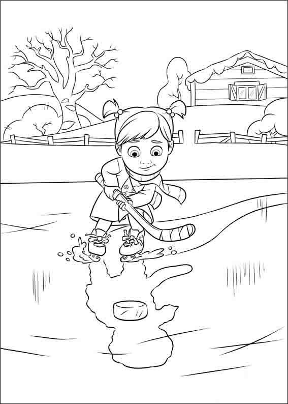 Inside Out Online Coloring Pages Printable Book For Kids 3