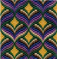 Free Bargello Needlepoint Patterns