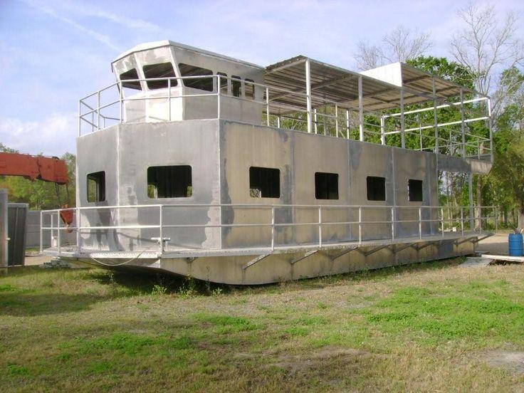 House Boats : RAZORHEAD Aluminum Boats & Fabrication