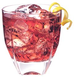 The lovely tartness of cranberry and pineapple gets kicked up a notch with the addition of a few ounces of PAMA.