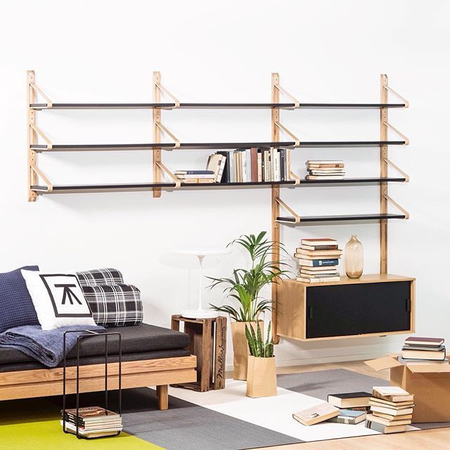 Tapio Anttila Collection - LINK shelf system, Day&Night sofa bed, Collection…