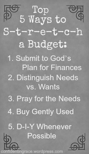 Struggling to live on a tight budget? Need to cut back on expenses? Try these five ways to stretch a budget from a family of six living on a single income.