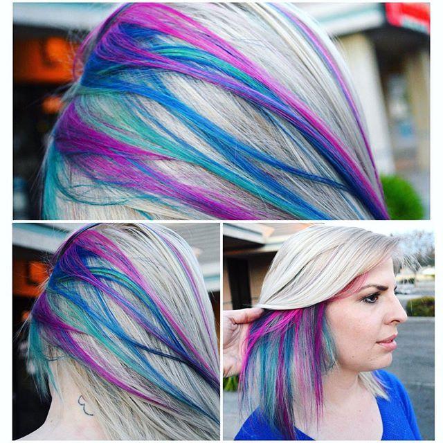 The Hidden Rainbow Roots Trend Is Mesmerizing Beauty