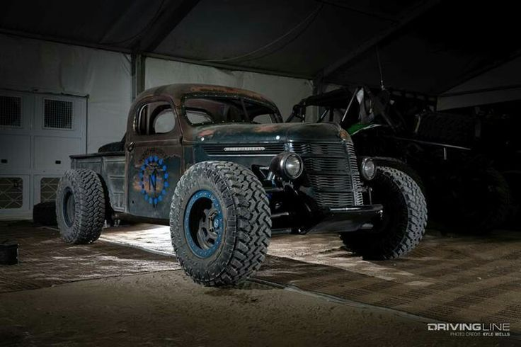 Trophy rat rod