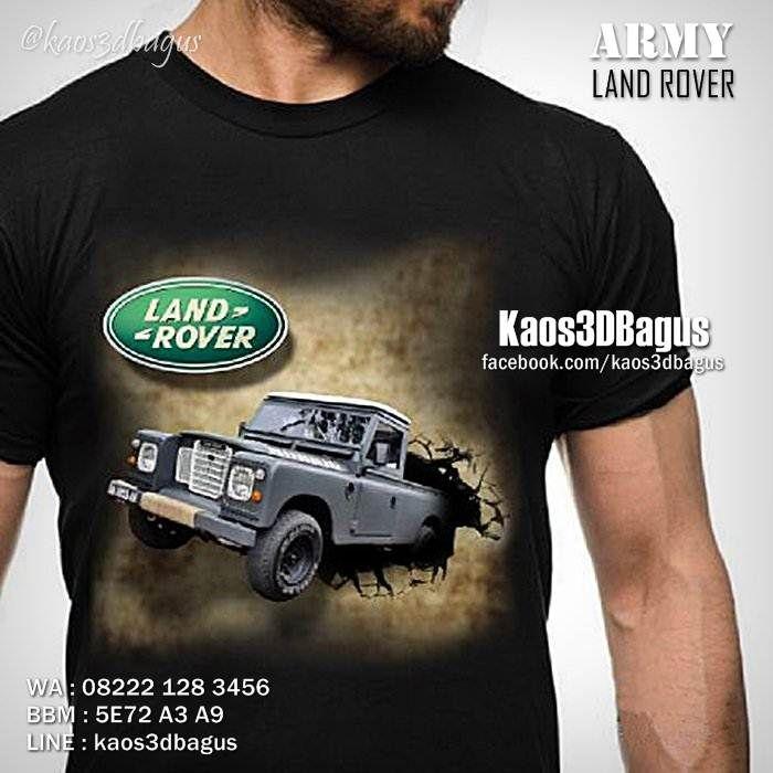 Kaos LANDROVER, Kaos Landrover DEFENDER, Classic Landrover, LANDY, JEEP, Offroad, https://instagram.com/kaos3dbagus, WA : 08222 128 3456, LINE : kaos3dbagus