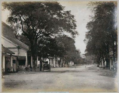 De Heerenstraat te Soerabaja 1885