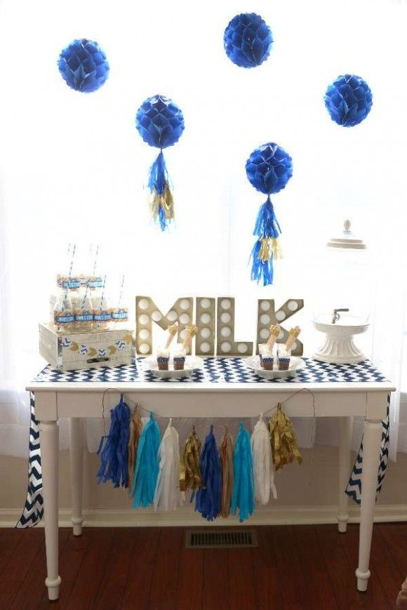 """Cardboard """"Milk"""" Letters 
