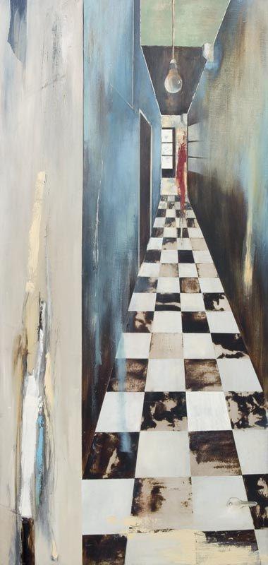 Jane Mitchell - Vortex. Sanderson Gallery