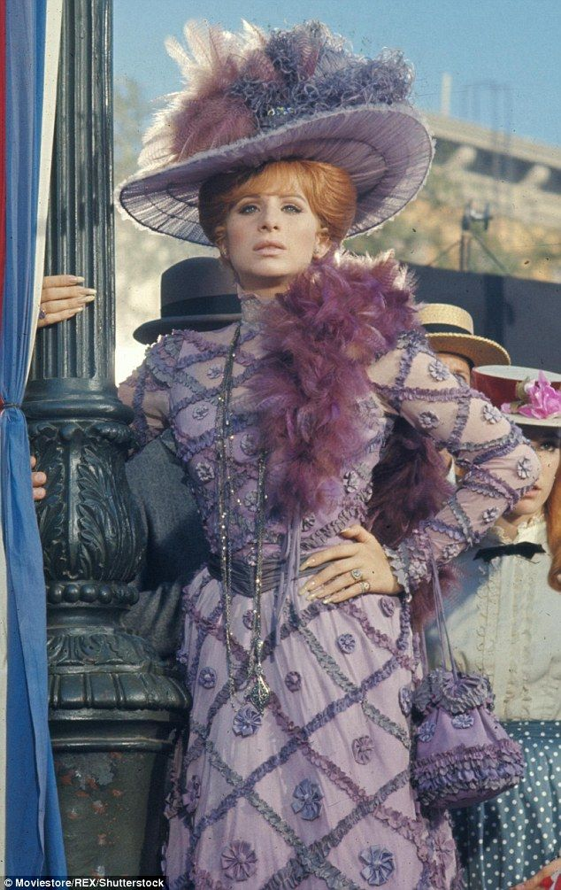 Flashback: The 1969 film version of Hello Dolly! starred Barbra Streisand in the lead role...