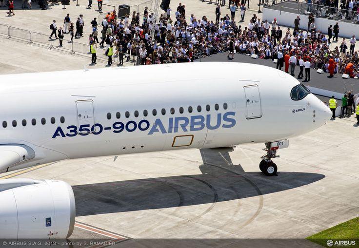 A350 chwilę po pierwszym locie / A350 right after the first flight