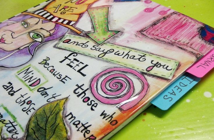 Art Book Cover Page Ideas : Best images about art journaling on pinterest journal