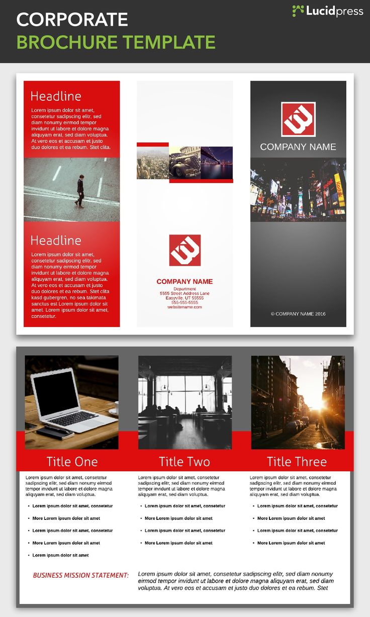 Best Free Brochure Templates Images On   Free