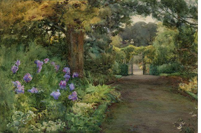 Mildred Anne Butler, 'The Lilac Phlox, Kilmurry, County Kilkenny'.