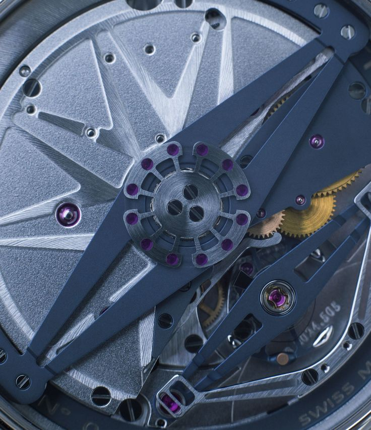DB20124 automatic movement on De Bethune DB25 at A Collected Man London