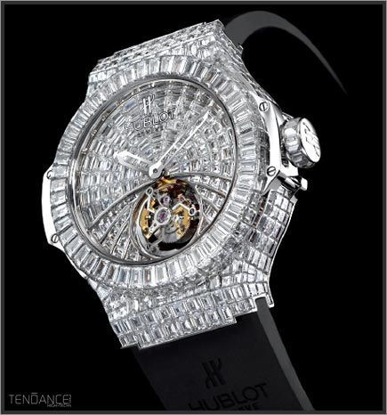 Hublot Diamond Watch cc @Hublot
