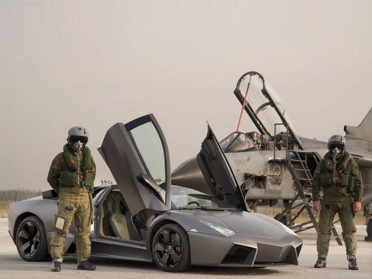 Lamborghini Reventon With Tornado Jetfighter