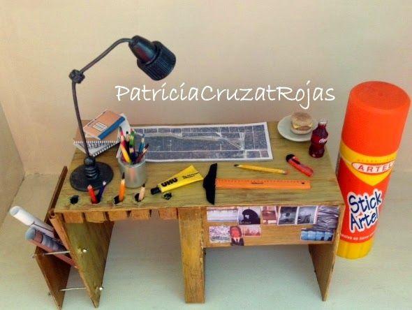 Patricia Cruzat Artesania y Color: Taller de ARQUITECTURA...con Miniaturas