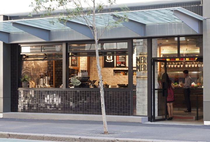 Яркий дизайн продуктового магазина Mero Mero в Сиднее