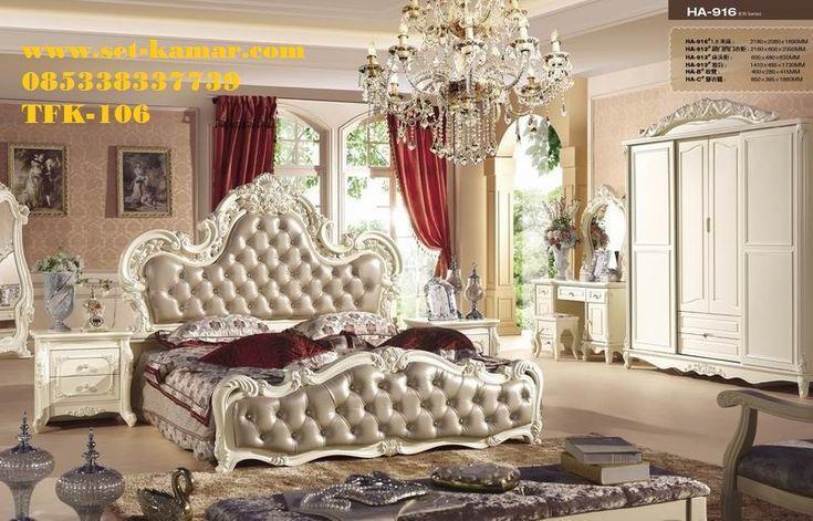Set Kamar Tidur Utama Klasik Crem