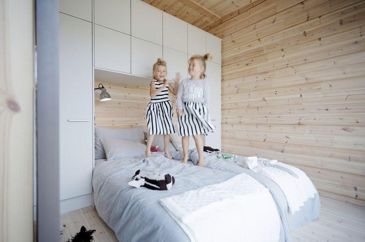 La vie est belle dans une maison bois Kontio ! www.kontio.fr