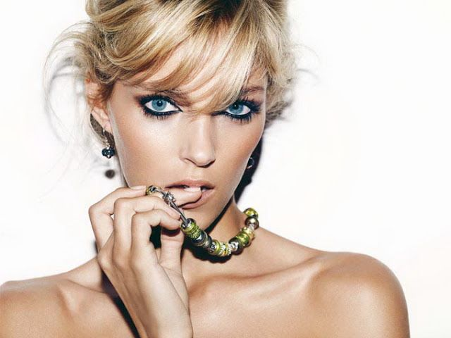 Anja Rubik for Apart Jewelry Poland is home to over 38 million people.