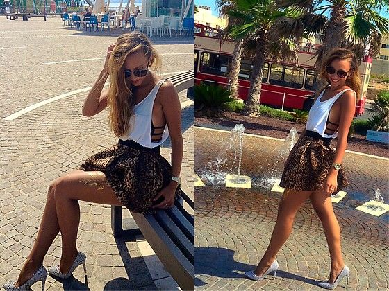 More looks by Simona Tinca: http://lb.nu/simonici  #fashion #summer #happines #tan #blondehair #beauty #goldentattoo #smile #love