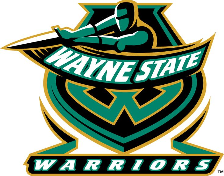 Wayne State Warriors, NCAA Division II/Great Lakes Intercollegiate Athletic Conference, Detroit, Michigan