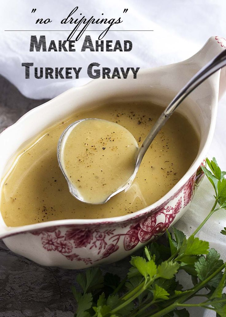ideas about Turkey Gravy on Pinterest | Gravy, Make Ahead Turkey Gravy ...