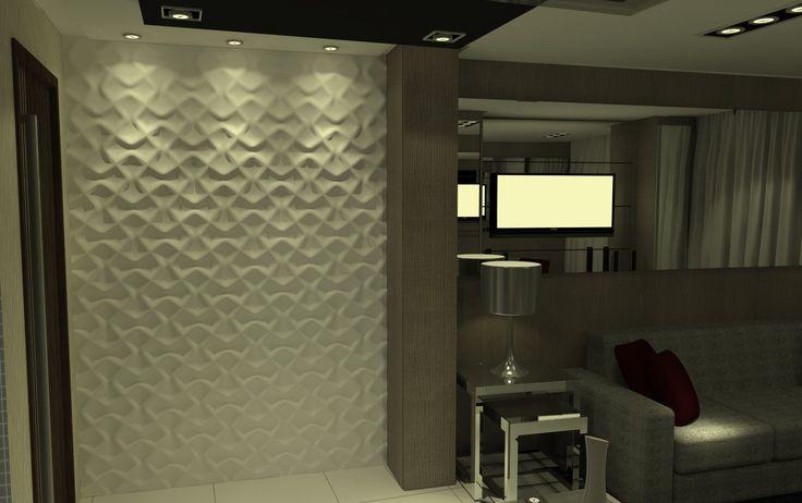 Sala De Estar Francais ~ Sala de EstarJantar  Apartamento Residencial de um Jovem Advogado